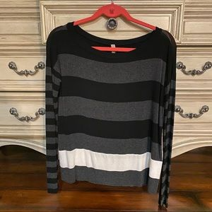 Bailey 44 Long Sleeve Striped Top